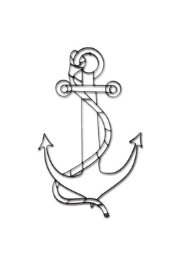 Ship Anchor Metal Wall Decor and Wall Art Sculpture