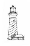 Lighthouse Metal Wall Decor