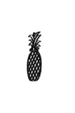 Side view of Pineapple metal wall art and decor or Trivet