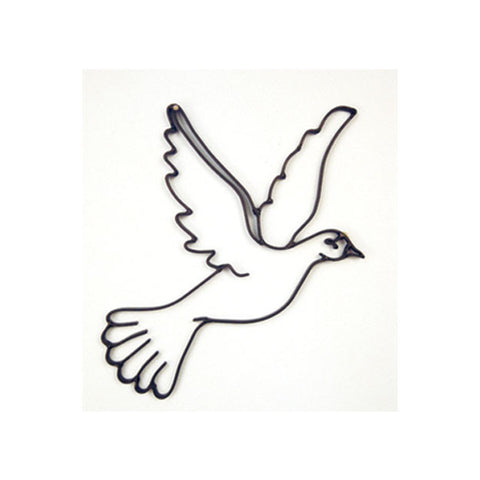 Peace Dove Metal Wall Decor and Wall Sculpture