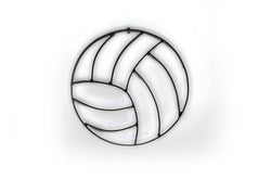 Volleyball Metal Wall Decor