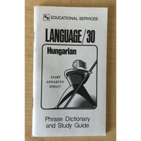 Hungarian Phrase Book