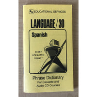 Spanish Phrase Book  Dictionary