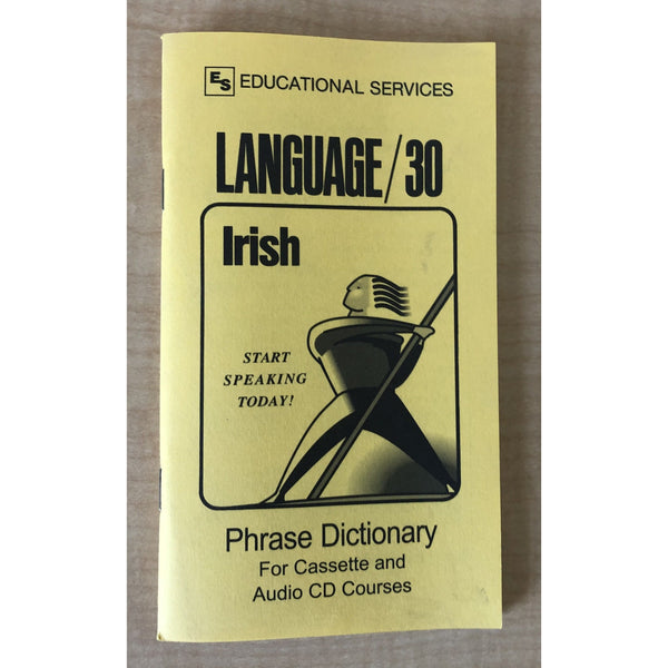 Irish Phrase Book  Dictionary