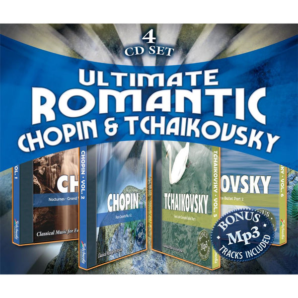 Ultimate Romantic: Chopin & Tchaikovsky (4 CD Album Set)
