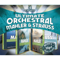 Ultimate Orchestral: Mahler & Strauss (4 CD Album Set)