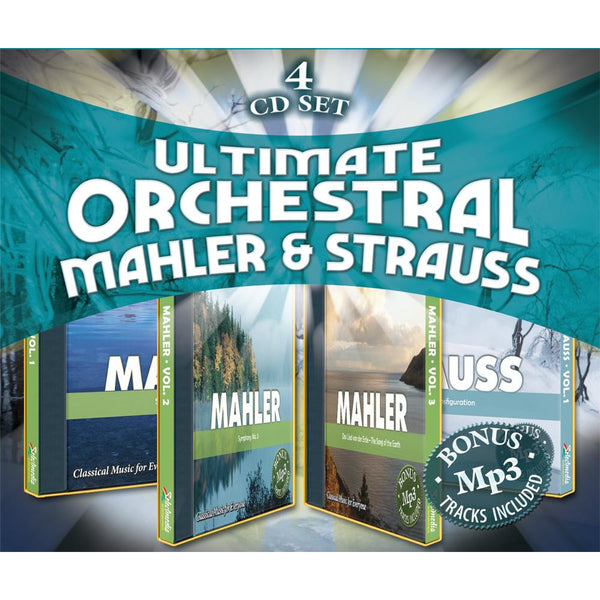 Ultimate Orchestral: Mahler & Strauss (4 Album DOWNLOAD Set)