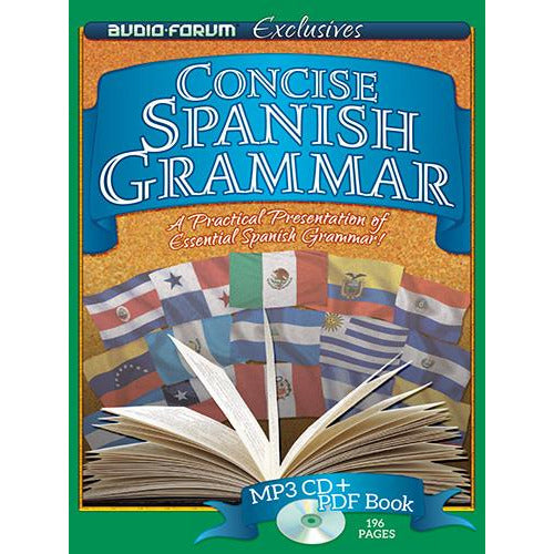 Concise Spanish Grammar (MP3/PDF)