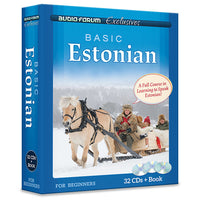 Basic Estonian (32 CDs/Book)