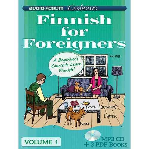 Finnish for Foreigners 1 (MP3/PDF)