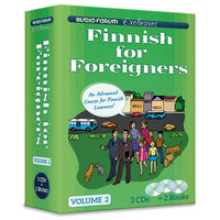 Finnish for Foreigners 2 (3 CDs/Books)