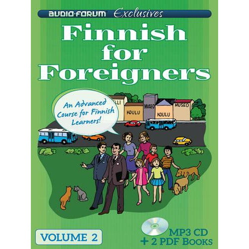 Finnish for Foreigners 2 (MP3/PDF)