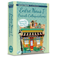 Entre Nous 1 - French Colloquialisms (CD/Book)