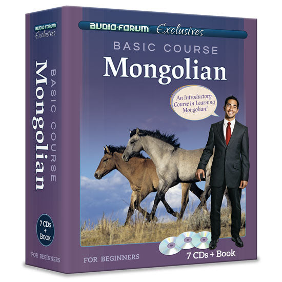 Basic Course Mongolian (7 CDs/Book)