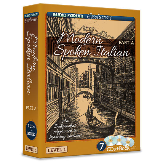 Modern Spoken Italian Part A (7 CDs/Book)