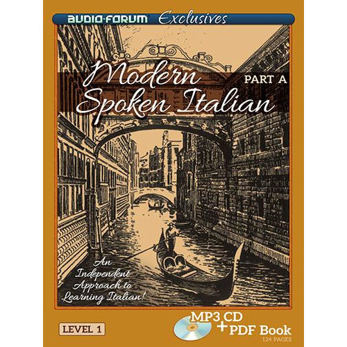 Modern Spoken Italian Part A (MP3/PDF)