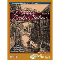 Modern Spoken Italian Part B (MP3/PDF)