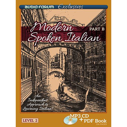 Modern Spoken Italian Part B (Download)