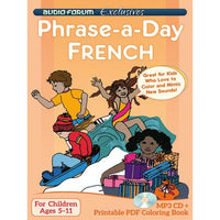 Phrase-a-day French (MP3/PDF)