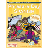 Phrase-a-day Spanish (MP3/PDF)
