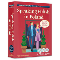 Speaking Polish in Poland (4 CDs/Book)