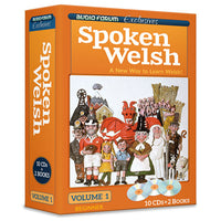 Spoken Welsh 1 (10 CDs/Books)