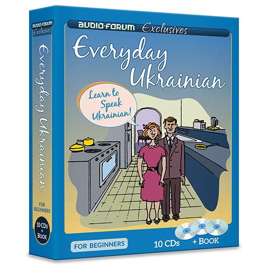 Everyday Ukrainian (10 CDs/Book)