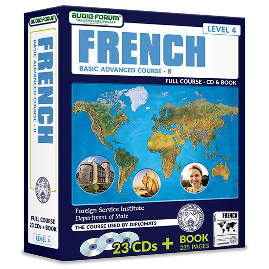 FSI: Basic French Advanced B (23 CDs/Book)
