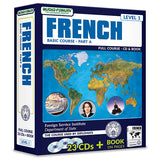 FSI: Basic French Part A (23 CDs/Book)