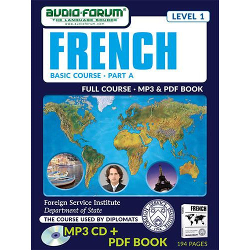 FSI: Basic French Part A (MP3/PDF)