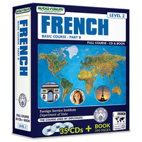 FSI: Basic French Part B (35 CDs/Book)