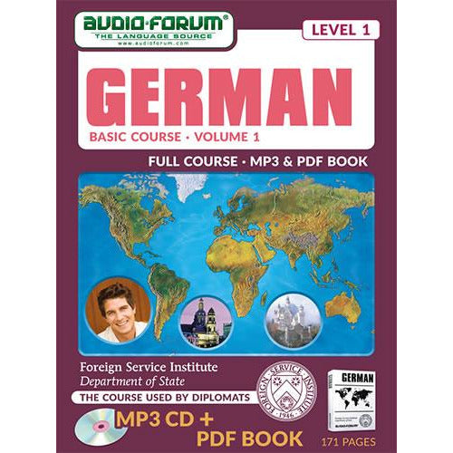 FSI: Basic German 1 (MP3/PDF)