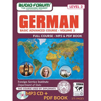 FSI: Basic German 3 Advanced (MP3/PDF)