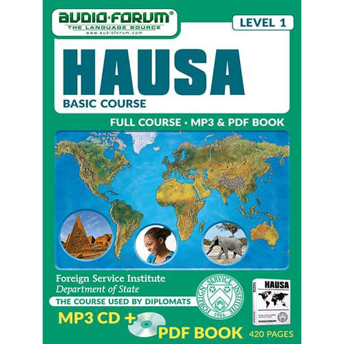 FSI: Hausa Basic Course (MP3/PDF)