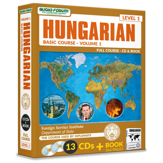 FSI: Basic Hungarian 1 (13 CDs/Book)