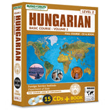 FSI: Basic Hungarian 2 (13 CDs/Book)