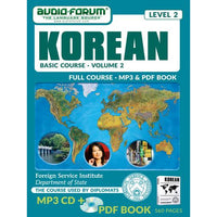 FSI: Basic Korean 2 (MP3/PDF)