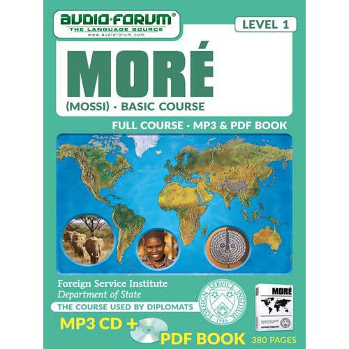 FSI: Moré (Mossi) Basic Course (MP3/PDF)
