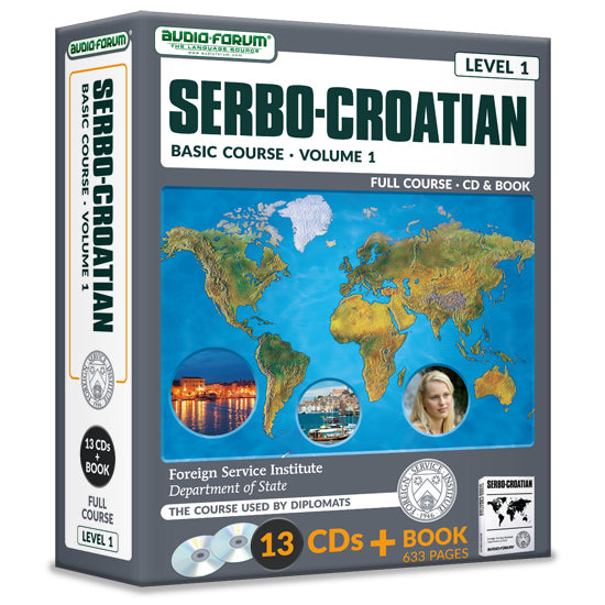 FSI: Basic Serbo-Croatian 1 (13 CDs/Book)