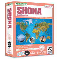 FSI: Shona Basic Course (6 CDs/Book)