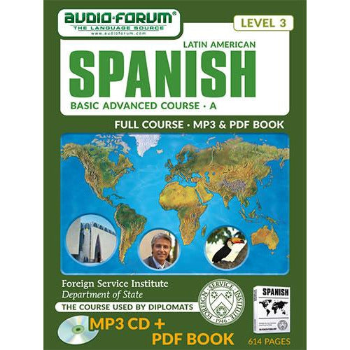 FSI: Basic Spanish Advanced A (MP3/PDF)
