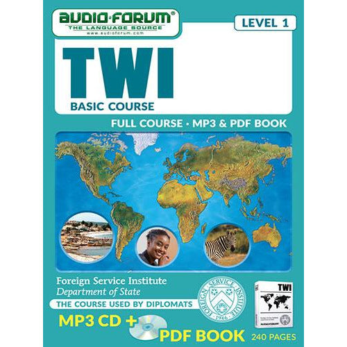 FSI: Twi Basic Course (MP3/PDF)