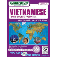 FSI: Basic Vietnamese 1 (MP3/PDF)