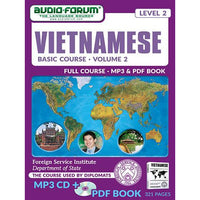 FSI: Basic Vietnamese 2 (MP3/PDF)