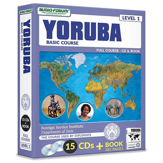 FSI: Yoruba Basic Course (15 CDs/Book)