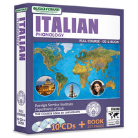 FSI: Italian Phonology (10 CDs/Book)