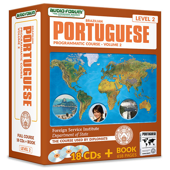 FSI: Programmatic (Brazilian) Portuguese 2 (18 CDs/Book)