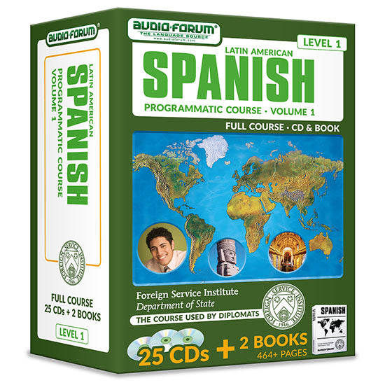 FSI: Programmatic Spanish 1 (25 CDs/Books)