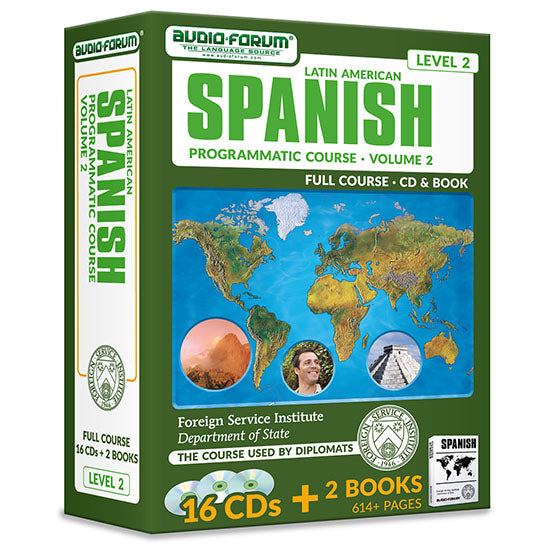 FSI: Programmatic Spanish 2 (16 CDs/Books)