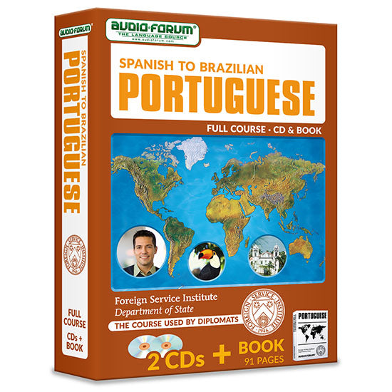 FSI: Spanish to Brazilian Portuguese (2 CDs/Book)